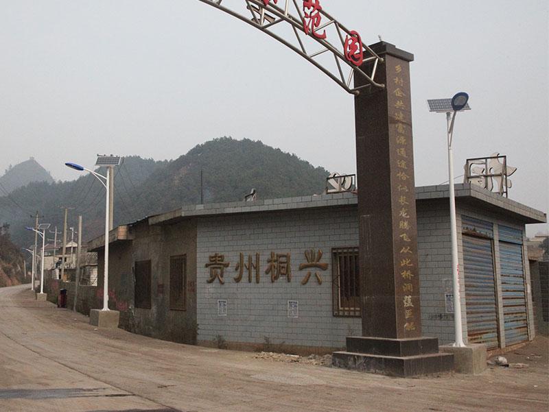 贵州太阳能路灯项目