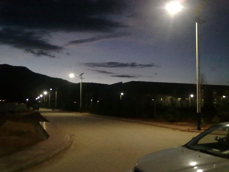 广西乡村路灯建设