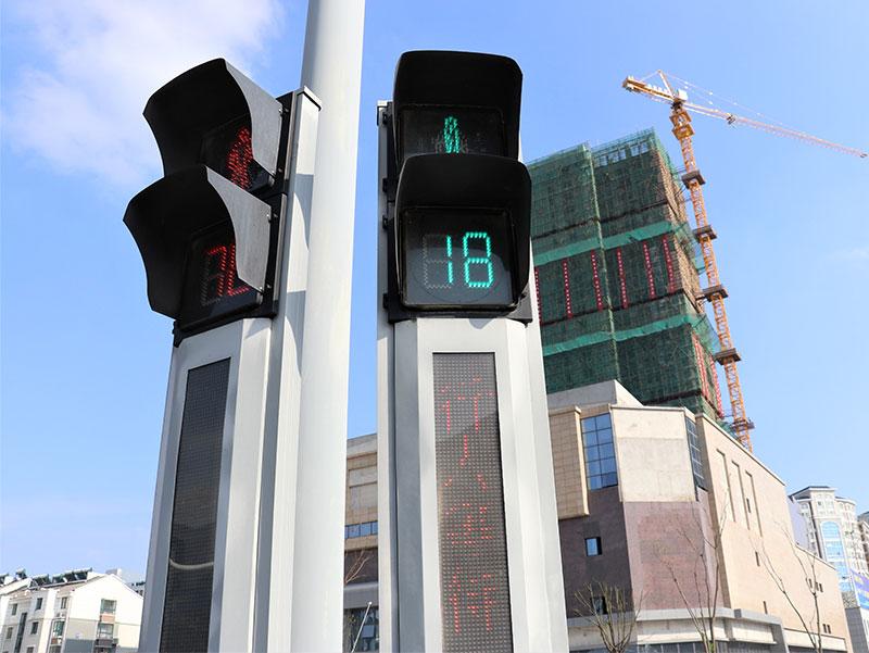 扬州人行灯路口项目