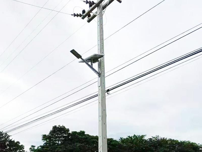 尼加拉瓜壁挂式路灯