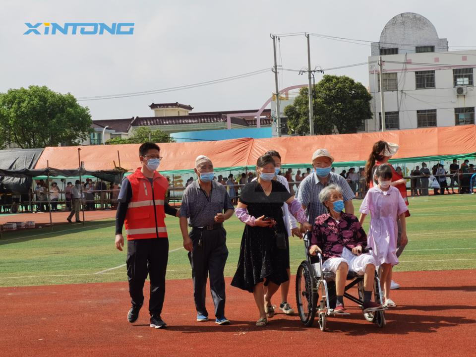 敬亚博竞技APP可爱的志愿者——齐心抗疫,共赴时艰