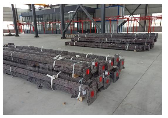亚博竞技APP项目——西班牙折叠杆发货中